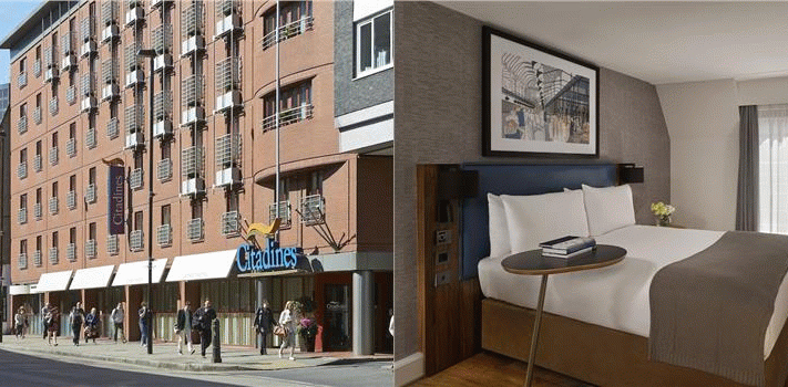 Bilder från hotellet Citadines Barbican London - nummer 1 av 30