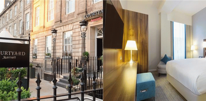 Bilder från hotellet Courtyard by Marriott Edinburgh - nummer 1 av 22