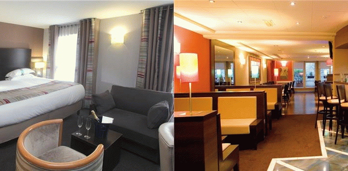 Bilder från hotellet Holiday Inn Paris - Montmartre - nummer 1 av 39